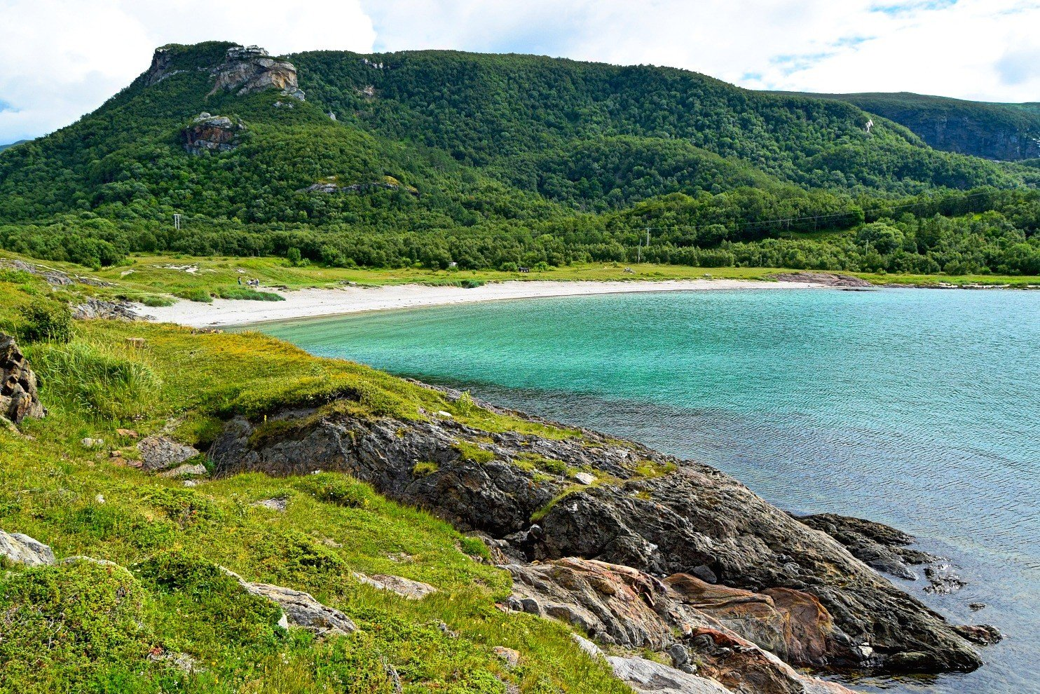 Ausvika Beach outside Bodø city