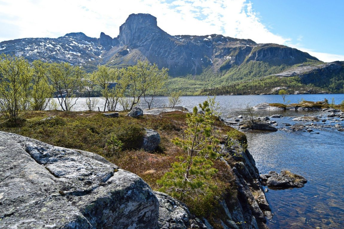Steigtindvatnet Lake outside Bodø city